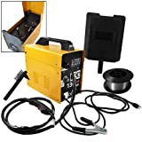 MIG-130 Gas-Less Flux Core Wire Welder Welding Machine Automatic Feed Unit DI...