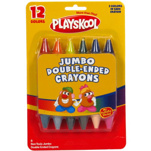 Playskool Double Ended Crayons