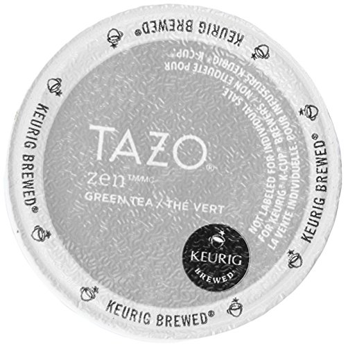 M.Block & Sons 10519 16 Count Tazo Zen Tea K Cup, White
