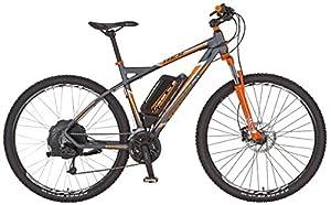 Prophete Herren Elektrofahrrad REX E-Bike Alu-MTB Twentyniner 29 Zoll Bergsteiger 6.8, anthrazit matt, 50, 51566-0111