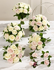Pink and White Wedding Luxury Rose Collection 3