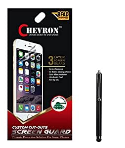 Chevron Matte Screen Guard Protector For YU Yureka Plus With Stylus