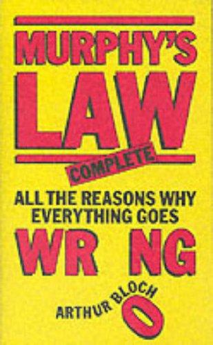 Murphy's Law: Complete (Mandarin Humour)