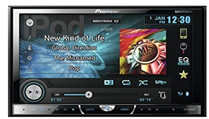 Pioneer AVH-X5600BT Autoradio Noir