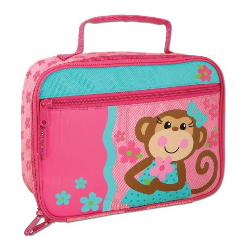 Stephen Joseph Lunch Box, Girl Monkey front-1011439