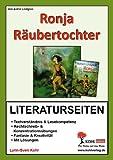 Ronja Räubertochter - Literaturseiten
