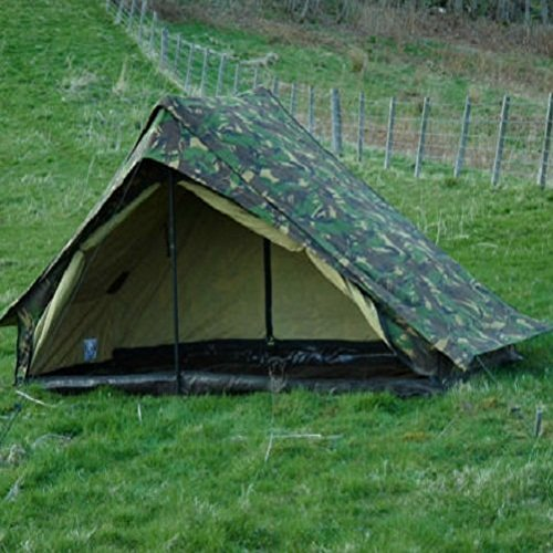 Camping Cookware Review: Dutch Army Canvas Tent - Woodland