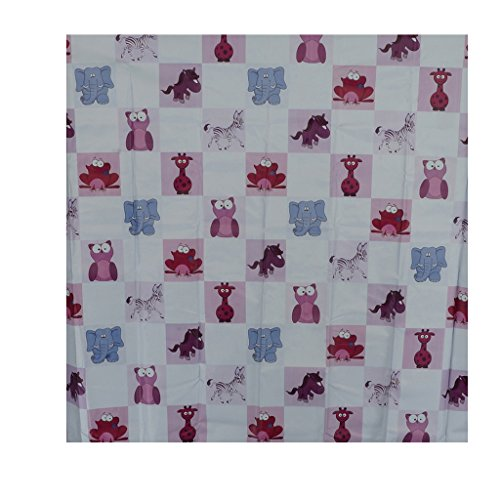 Aarushi Baby Purple Rubber Mat With Animals Print(ARSH_54)(color May Vary)