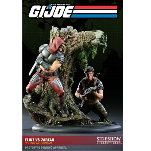 Buy Low Price Sideshow Flint Vs. Zartan Diorama Figure (B004391HRY)