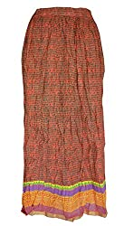 PMS Pure Cotton Woman Fashion Long Skirt (Assorted Designs)