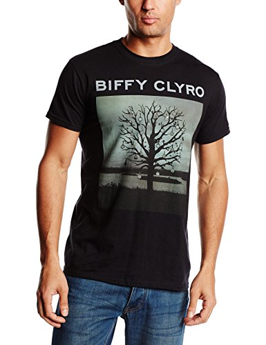 Biffy Clyro - Biffy Clyro Chanderlier, T-shirt da uomo,  manica corta, collo rotondo, nero (Noir (Black)), XX-Large