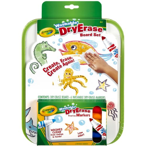Crayola Dry Erase Go Anywhere Washable Marker Board set