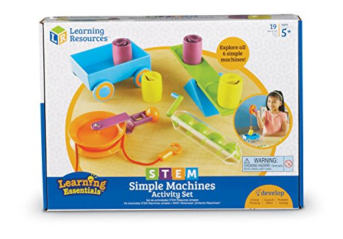 Learning Resources Stem Simple Machines Activity Set JungleDealsBlog.com