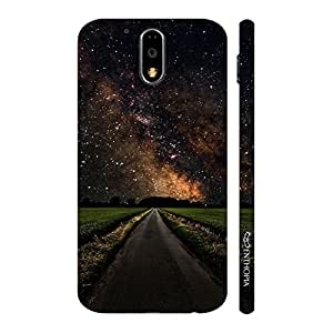 Enthopia Designer Hardshell Case Path to Success Back Cover for Motorola G4 Play