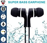 #4: Amore Stereo Earphone Hands-Free 3.5Mm Jack In-Ear Super Extra Bass Headphone Headset With Mic Compatible with Samsung, Motorola, Sony, Oneplus, HTC, Lenovo, Nokia, Asus, Lg,Oppo,Vivo, Coolpad, Xiaomi, Micromax and All Mobiles