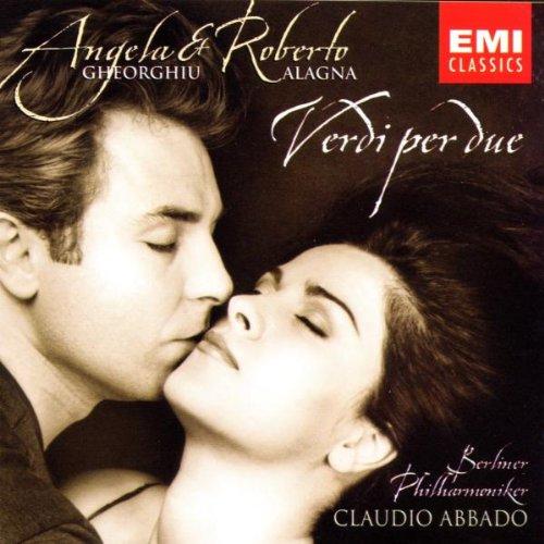 Verdi Per Due -  VERDI - (Angela Gheorghiu / Roberto Alagna)  - CD