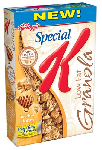 Special K Low Fat Granola Cereal, 19.5-Ounce Boxes (Pack of 5)