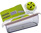 Sharper Image 3 in 1 Mandoline Super Slicer with Non Slip Container