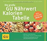img - for Die gro e GU N hrwert-Kalorien-Tabelle 2014/15 book / textbook / text book