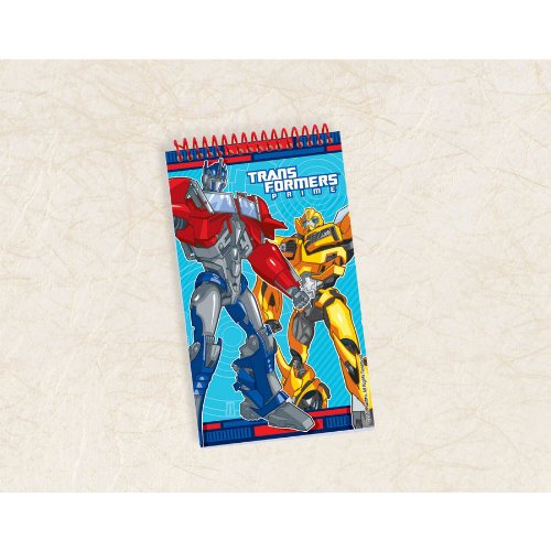 Transformers Prime Note Pad Party Favor