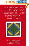 Elements of the Theory of Functions and Functional Analysis (Dover Books on Mathematics)