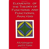 Elements of the Theory of Functions and Functional Analysis (Dover Books on Mathematics) ~ S. V. Fomin
