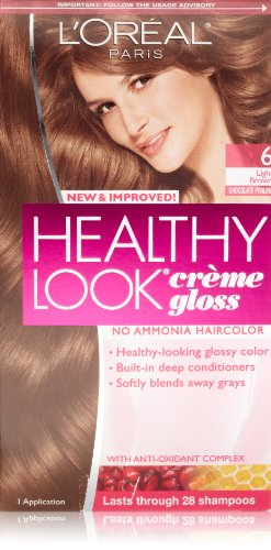 L'Oreal Paris Healthy Look, 6 Light Brown/Chocolate