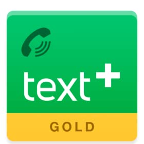 textPlus Gold Free Text + Calls for Android Phones, Tablets + Kindle Fire