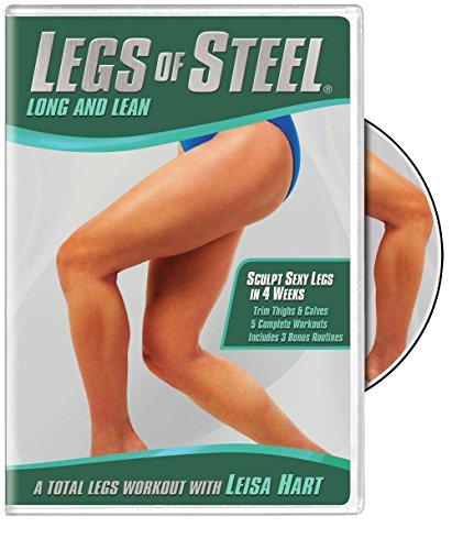 DVD : Leisa Hart - Legs of Steel: Long & Lean (Full Frame)