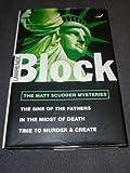 Lawrence Block The Matt Scudder Mysteries Volume 1: