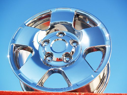 Toyota TundraTRD Off-Road Package: Set of 4 genuine factory 18inch chrome wheels