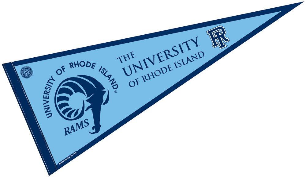 Amazon.com : University of Rhode Island Pennant Full Size Felt ...