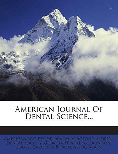 American Journal Of Dental Science...