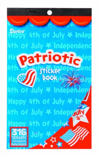 WeGlow International Patriotic Sticker Book (Pack of 4)