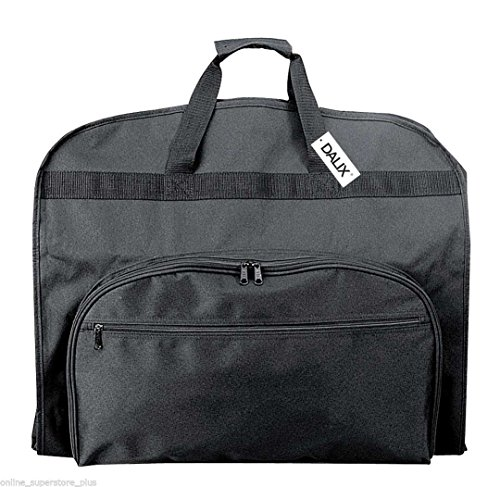 39-Business-Garment-Bag-Cover-for-Suits-and-Dresses-Clothing-Foldable-w-Pockets