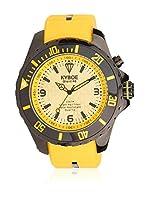 KYBOE! Reloj automático Unisex Amarillo 40 mm