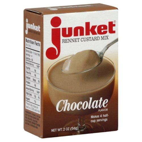Junket Chocolate Custard, 2-Ounce (Pack of 12)