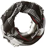 Collection XIIX Womens Plaid Buffalo Check Double Weave Luxetouch Loop