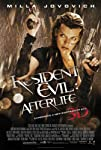 Resident Evil Afterlife Movie Milla Jovovich One Sheet Poster