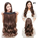 Superex® 23' 3/4 Clip in Extensions Halbperücke...
