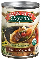 Muir Glen Chef Inspirations Beef Vegetable, 18.7-Ounce Cans (Pack of 12)