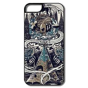 Amazon.com: WallM Sleepy Tipi Case For Iphone 5/5S: Cell Phones
