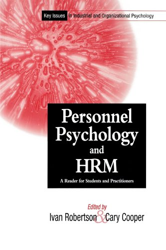 Key Issues In Industrial and Organizational Psychology,