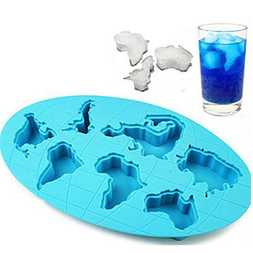 Continents Mold Silicone Mold Cake Tools Cookie Cutter Ice Molds
