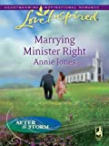 Marrying Minister Right (Love Inspired)