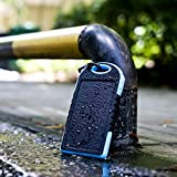 InnoGear Solar Panel Charger 5000mAh Rain-resistant and Dirt/Shockproof Dual USB Port Portable Charger Backup External Battery Power Pack for iPhone 5S 5C 5 4S 4, iPods(Apple Adapters not Included), Samsung Galaxy S5 S4, S3, S2, Note 3, Note 2, Most Kinds