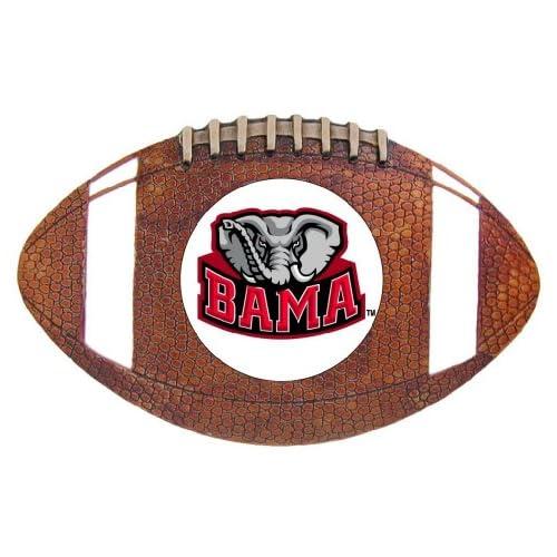 Alabama Crimson Tide Football Belt Buckle   NCAA College
