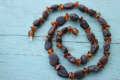 Authentic Baltic Amber Necklace 20'' - 1