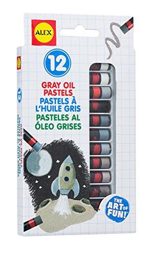 ALEX Toys Artist Studio 12 Gray Oil Pastels