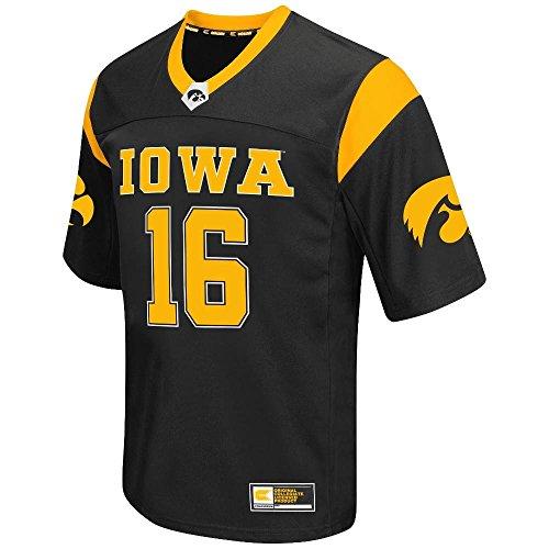 Mens NCAA Iowa Hawkeyes Football Jersey (Team Color)